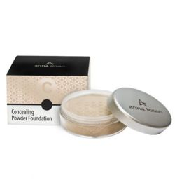 Anna Lotan Anna Lotan Concealing Powder Foundation SPF17  Honey 201