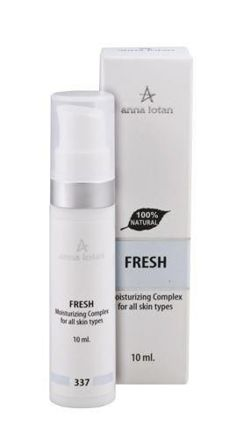 Anna lotan Bio-ampoule, intensive moisturizing complex with natural hyaluronic acid 10 ml